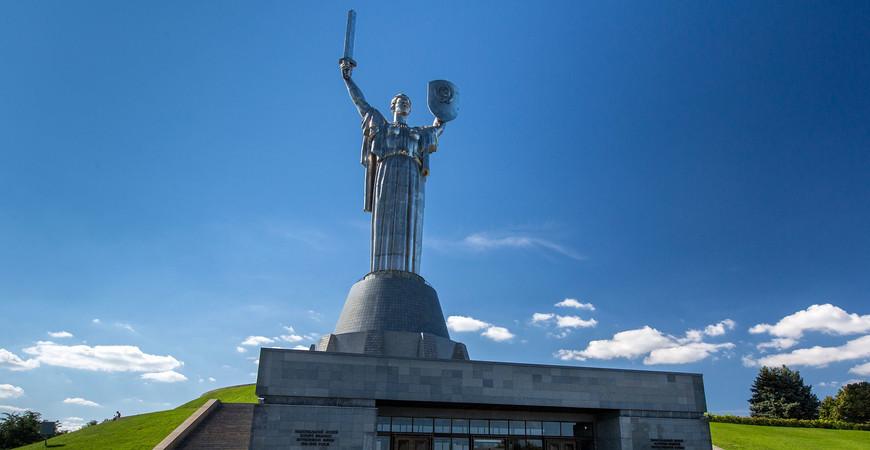 «Родина-мать» в Киеве