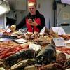 экскурсия из Валенсии в Аликанте. Рынок #морепродукты