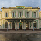 Ж/д вокзал Пскова