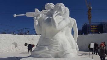 В Южной Корее стартовал Фестиваль ледяных фонтанов
