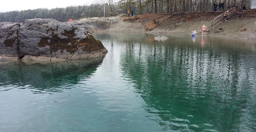 Голубые озера Алтая