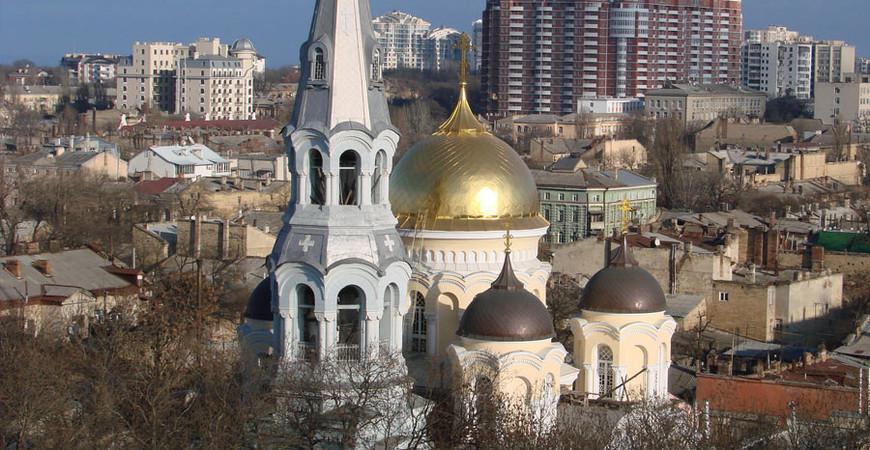 Свято-Ильинский мужской монастырь в Одессе