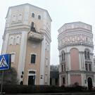 Водонапорные башни «Кася» и «Бася»