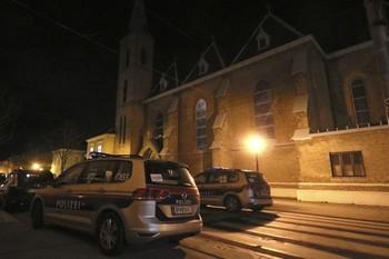 В Вене неизвестные напали на церковь: есть раненые