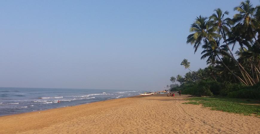 Пляж Васкадува (Waskaduwa Beach)