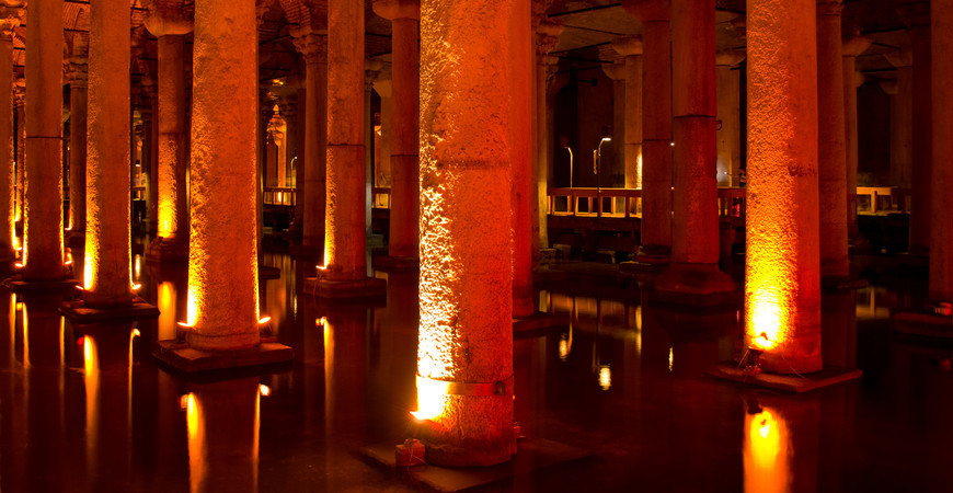 Цистерна Базилика в Стамбуле