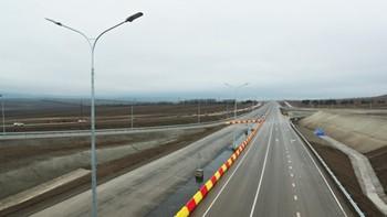 В Крыму открылось движение по первому участку трассы Таврида