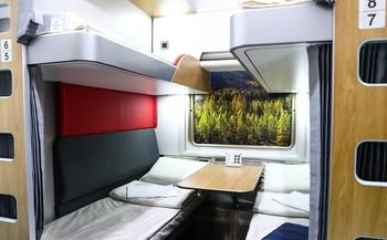 РЖД получила первый плацкартный вагон нового типа