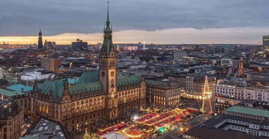 Ратуша Гамбурга (Hamburg Rathaus)