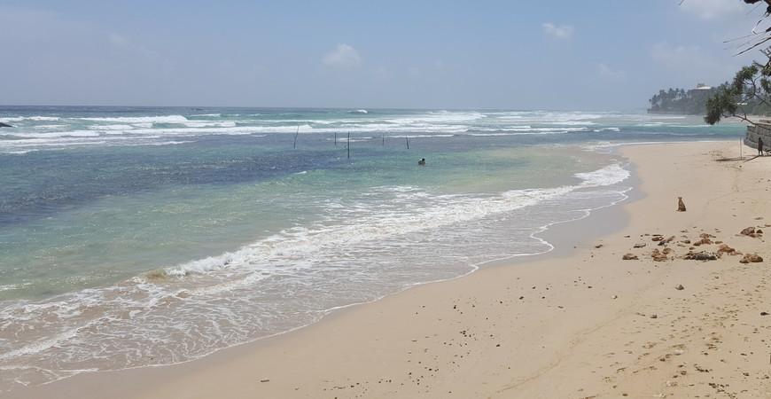 Пляж Ахангама (Ahangama Beach)