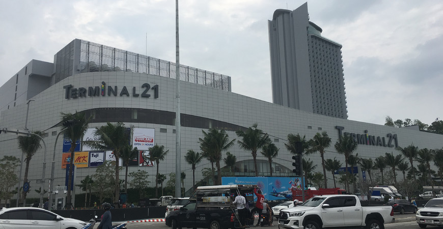 Терминал 21 в Паттайе