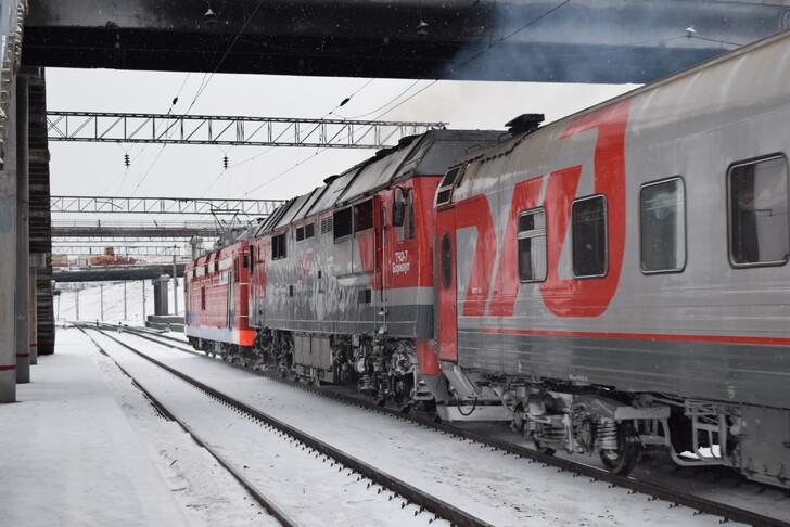 Поезд Томск — Барнаул