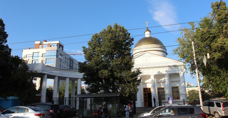 Спасский храм Уфы