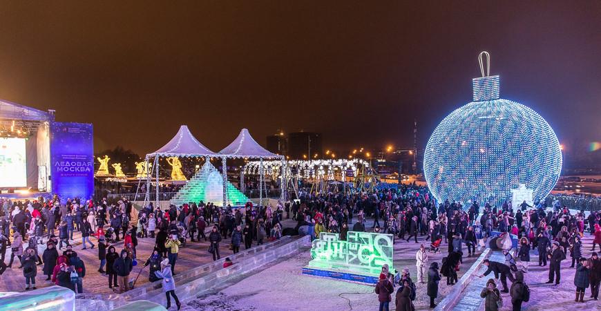 Фестиваль «Ледовая Москва» 2019