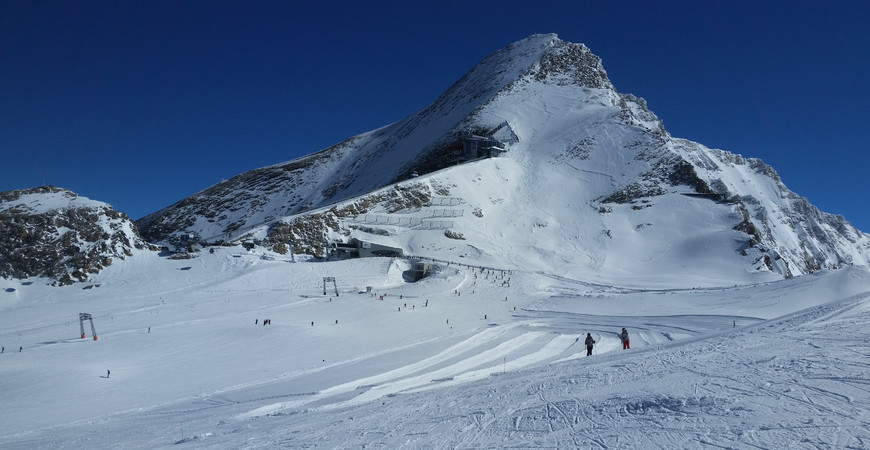 Горнолыжный курорт Капрун в Австрии