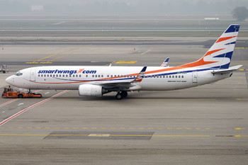 Самолёт чешской авиакомпании выкатился за пределы ВПП в Шереметьево