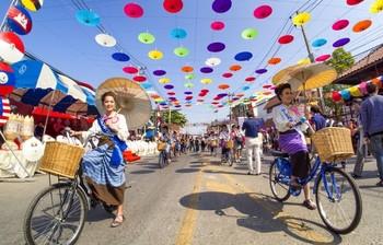 В Таиланде пройдёт Фестиваль зонтиков