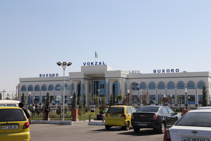 Вокзал Бухара-1 в Кагане