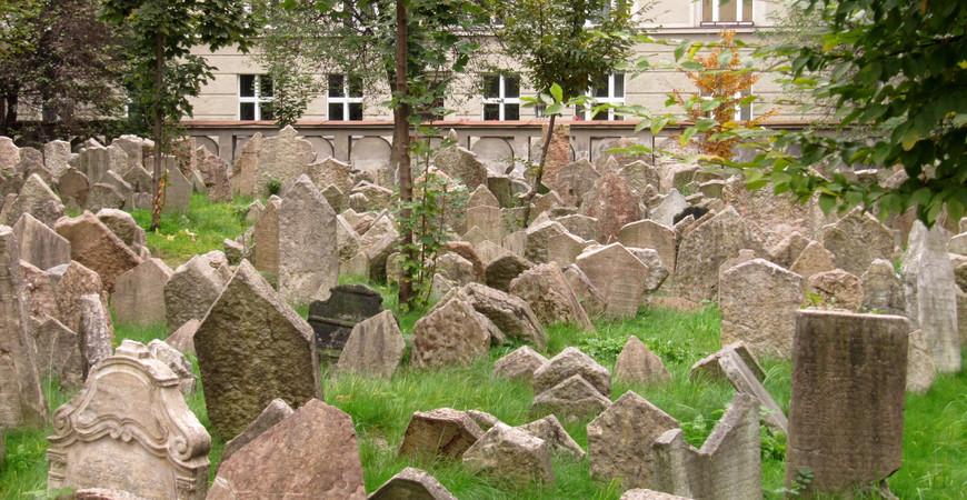Старое еврейское кладбище в Праге (Starý židovský hřbitov)