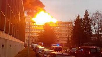 В университете Лиона произошла серия взрывов