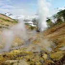 Малая долина гейзеров на Камчатке