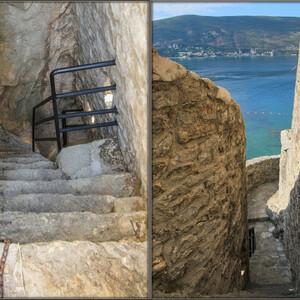 Окончания лесенкам я не увидела-мрачные стены давили и мне очень быстро захотелось вернуться на верх!