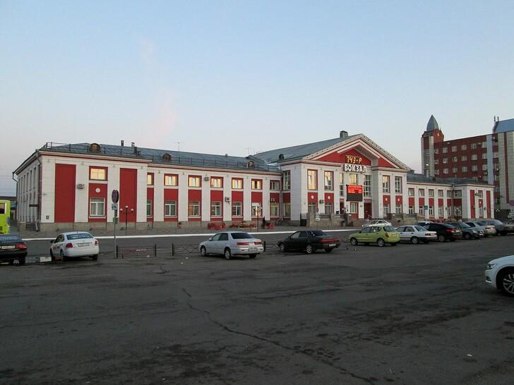 Ж/д вокзал Барнаула