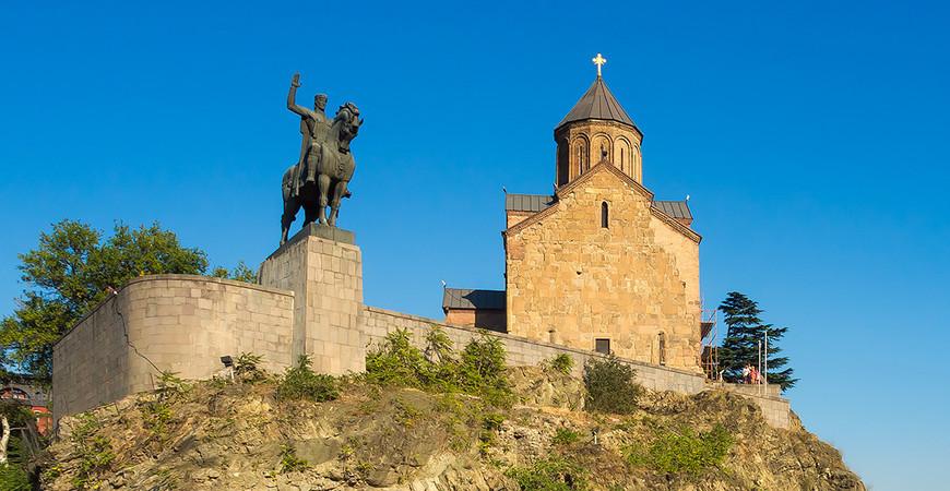 Храм Метехи в Тбилиси (Metekhi church)