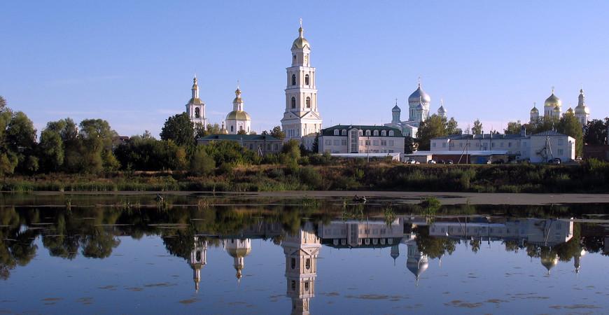 Монастырь в Дивеево (Серафимо-Дивеевский монастырь)