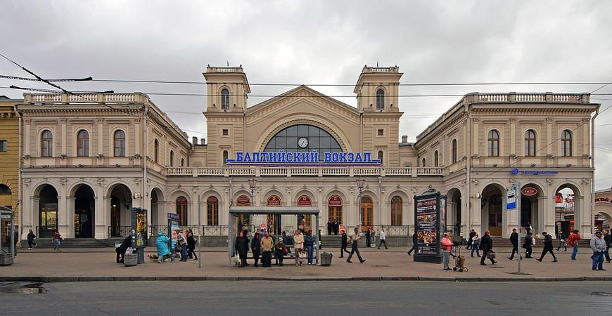 Балтийский вокзал в Санкт-Петербурге