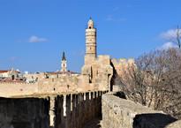 Иерусалим, прогулка по стенам Старого города