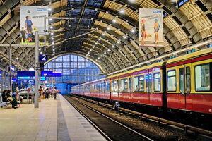 На вокзале Александерплац