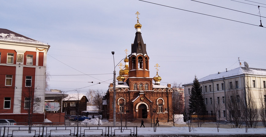 Никольский храм в Барнауле