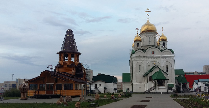 Храм Иоанна Богослова в Барнауле