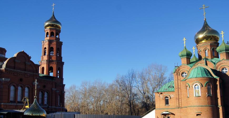 Невский собор в Барнауле