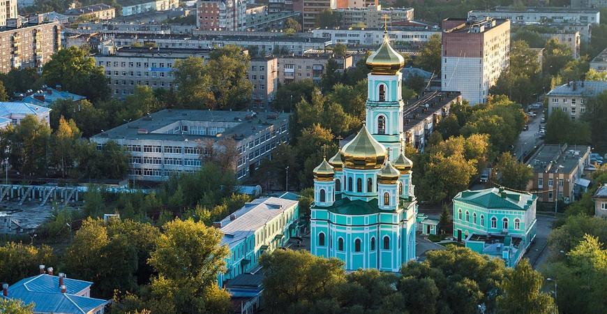 Слудская церковь в Перми (Свято-Троицкий кафедральный собор)