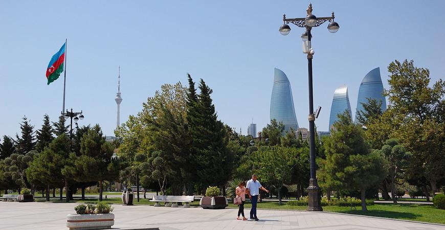 Приморский бульвар Баку