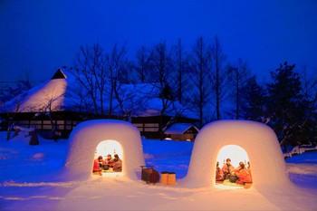 В Японии пройдёт фестиваль снежных домиков «Камакура»