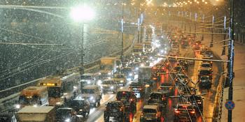 В Москве на завтра объявлен желтый уровень метеоопасности из-за гололёда