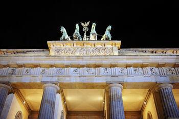 Главный символ Берлина - Бранденбургские ворота
