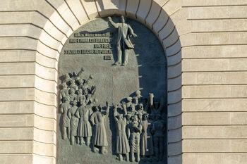 Портал Карла Либкнехта на месте провозглашения им Немецкой республики