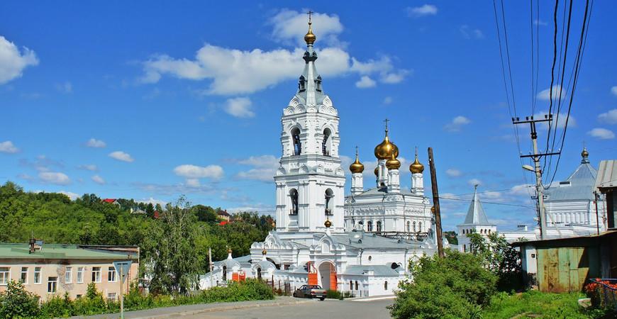 Свято-Троицкий Стефанов мужской монастырь в Перми