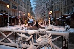 Франция страдает от сильных снегопадов