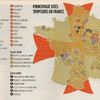 Командорства тамплиеров во Франции