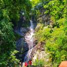 Водопад и мост Mахунцети