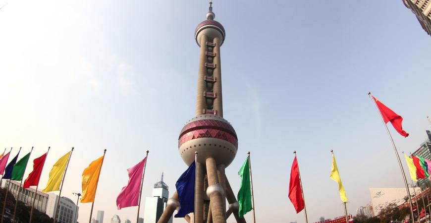 Телебашня «Жемчужина Востока» в Шанхае
