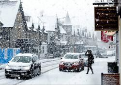 В Великобритании из-за снегопада отменены авиарейсы