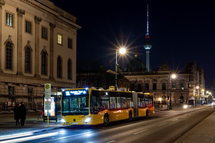 Экспресс-автобус TXL