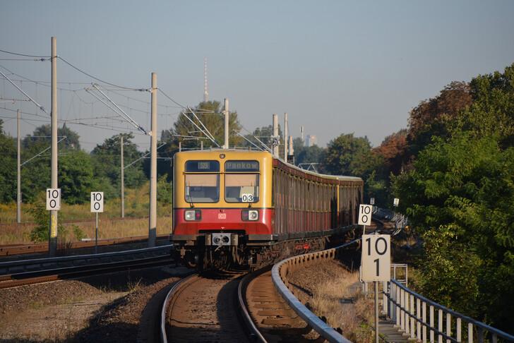 Электричка S-Bahn (линия S9)