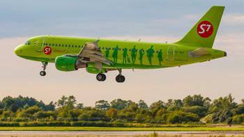 S7 Airlines будет летать из Петербурга в Барселону